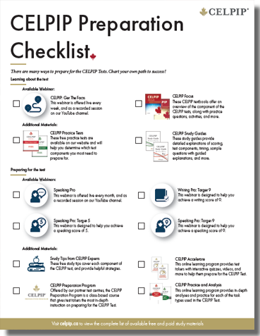 Celpip general study guide free download.